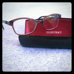 NEW Ellen Tracy Tuscany eyeglass frames.